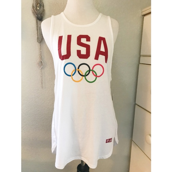 40db1bcde9c0c Team USA Muscle Work Out Tee